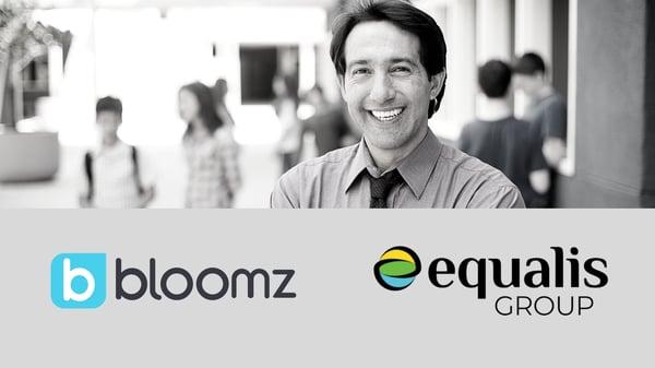 Bloomz+Equalis Landing Page
