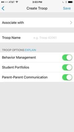 Create Troop
