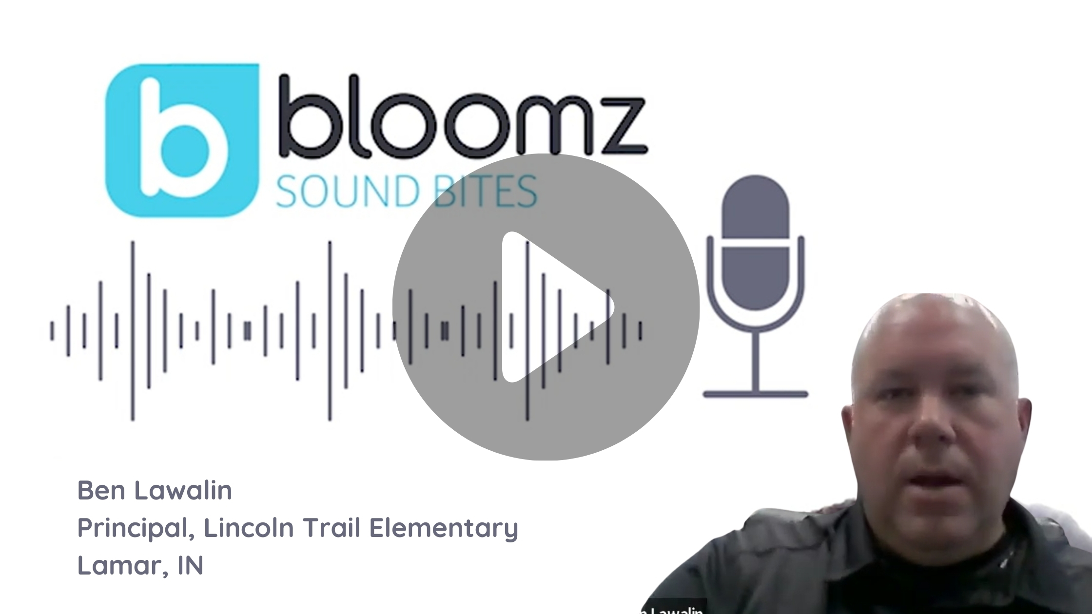 Principal of Nationally Recognized School Shares His Thoughts on Bloomz