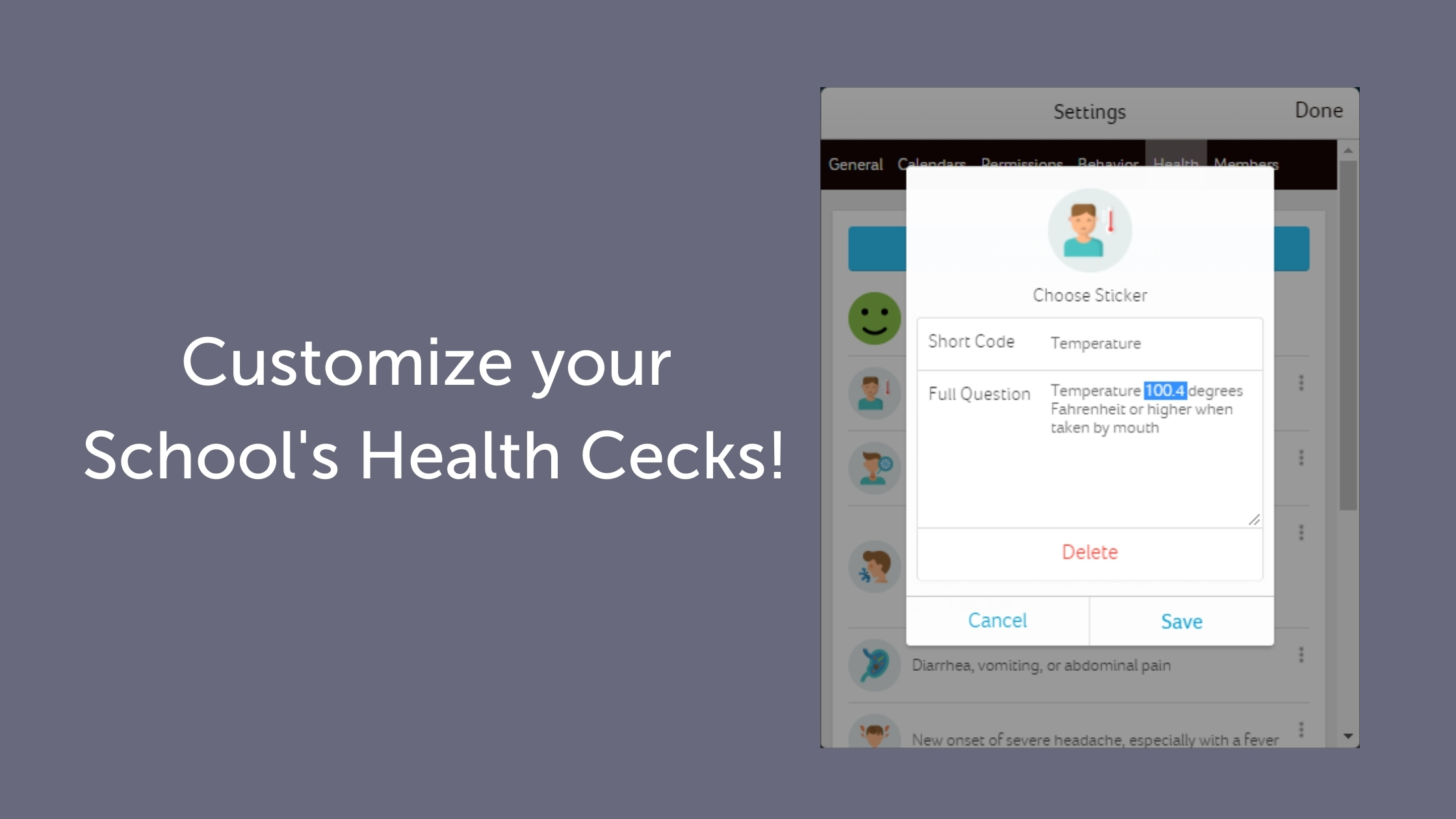 Customize Your Health Checks (Updated)