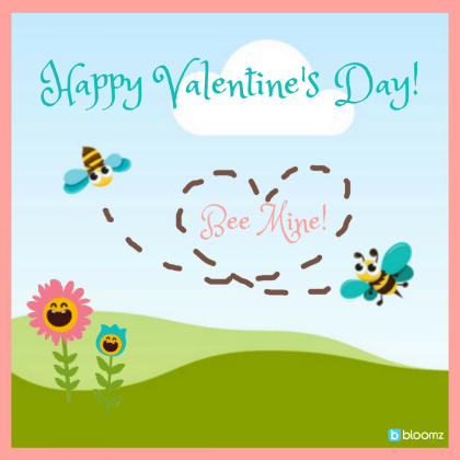 Send Valentine's Day Cards to Students in Bloomz!