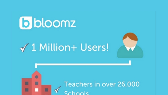 Bloomz Now Connects More Than One Million Parents, Teachers, and Administrators