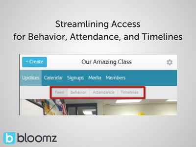 Streamlining Student Timelines/Behavior Management Access