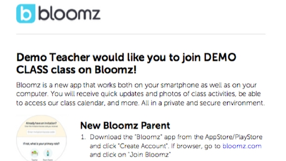 Tips for Getting Parents to Join Bloomz
