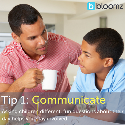 [New Parent Series: How to Stay Engaged with Your Child's Education] Tip 1: Communicate