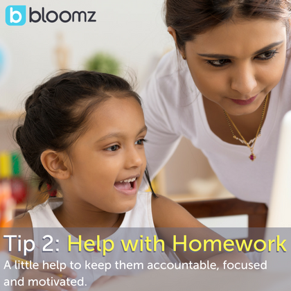 [New Parent Series] Tip 2: Help with Homework