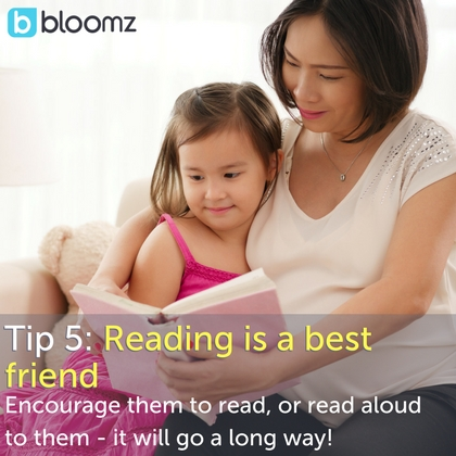 [New Parent Series] Tip 5: Reading is a Best Friend