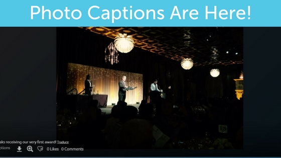 Update for Premium Users: Captions and Event History