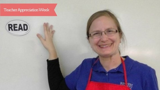 Teacher of the Week - Cynthia Wong